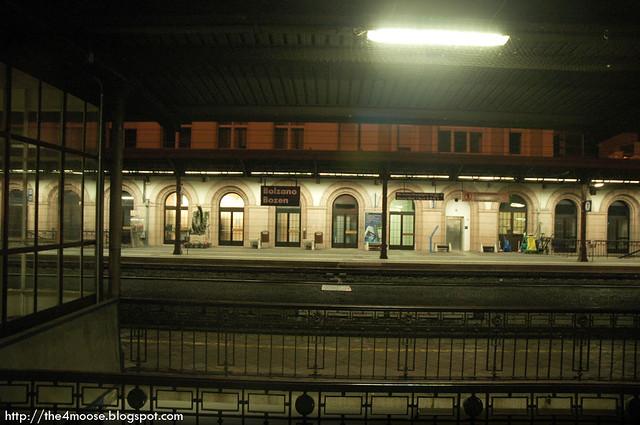 CNL 363 - Bolzano Station