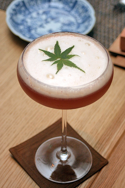 No, that's not a marijuana martini