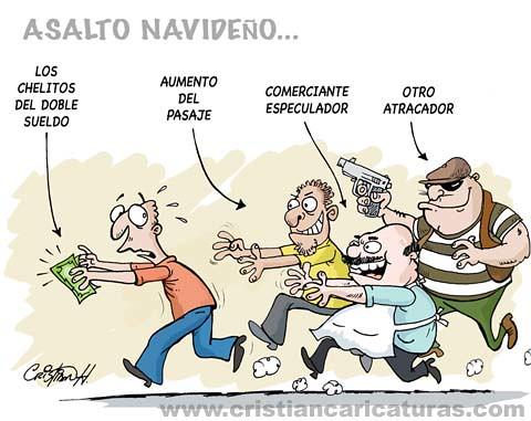 ASALTOS NAVIDEÑOS