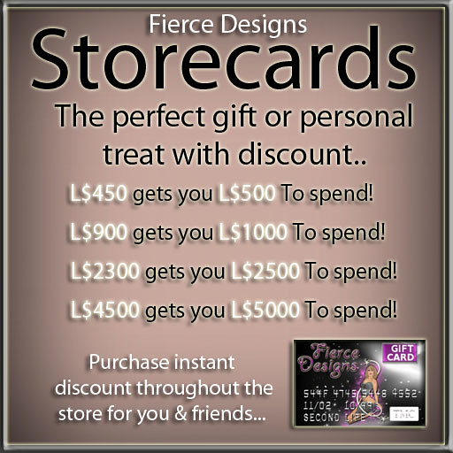 store cards on sale 2012