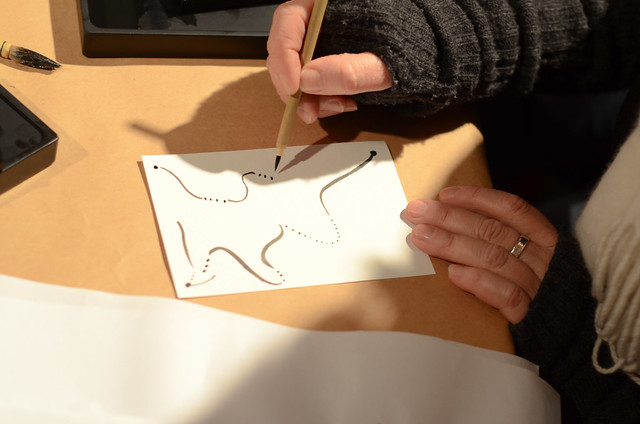 Making Sumi Ink