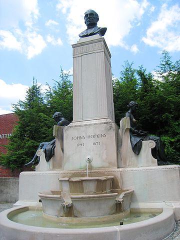 Johns Hopkins Statue