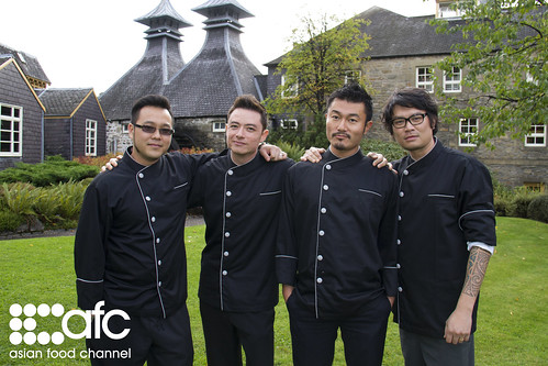 AFC's Great Dinners of the World - 4 Chefs in Black
