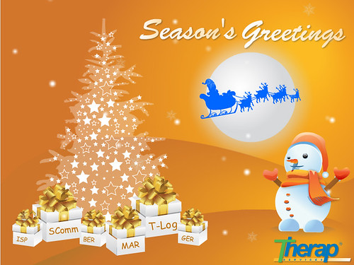 Happy Holidays from everyone at Therap!
