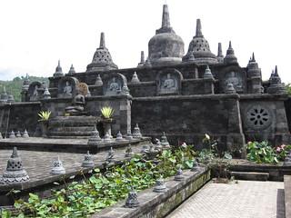 Obraz Brahma Arama Vihara. bali indonesia lovina brahmaviharaarama