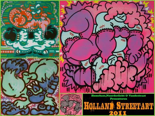 Holland Streetart 2011 - Oase