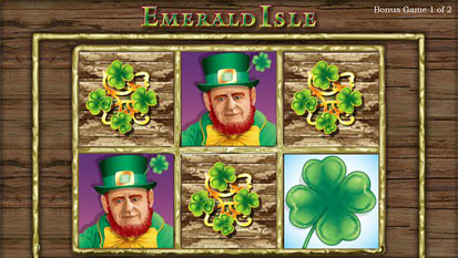 Emerald Isle free spins
