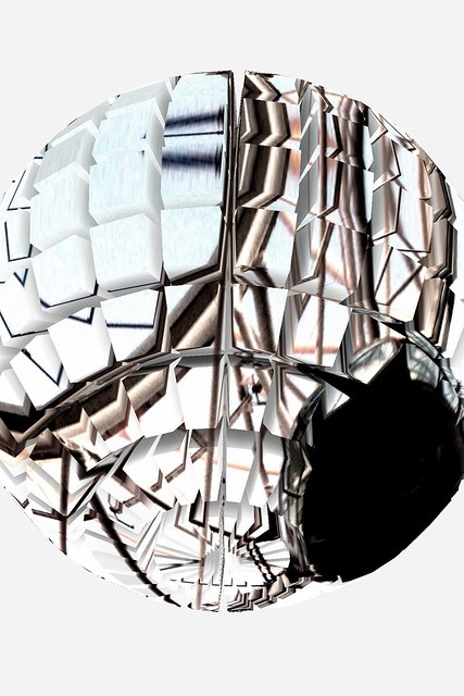 abstract image of pod from london eye