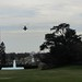 Marine 1 approaching the White House
