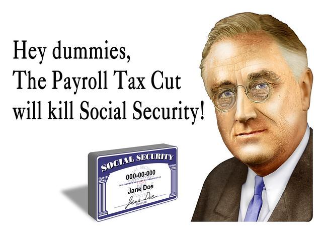 Security Haircut : The Payroll Tax Cut will kill Social Security! A few years ...