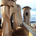 Rooftop Sculptures by Antoni Gaudí