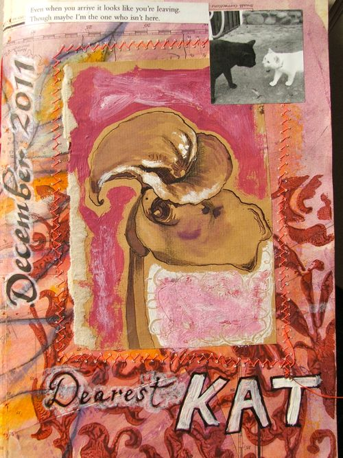 mail art bundle for Kat