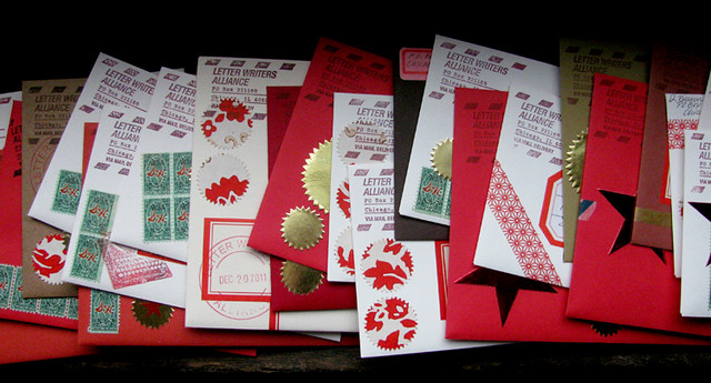 outgoing Dec 2011 cards