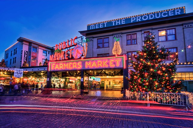 Christmas at Pike Place Market