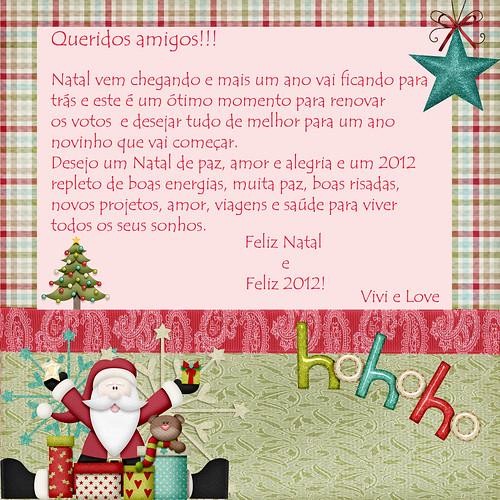 Feliz Natal e Ano Novo