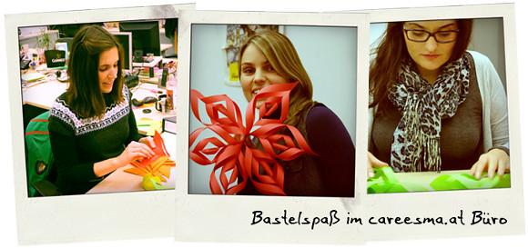 Weihnachtsdeko österreich.Weihnachtsdeko Basteln Im Büro Careesma österreich Flickr
