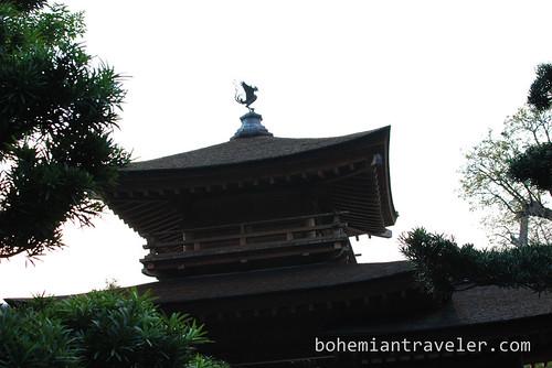 Nan Lian Gardens Wooden Roof