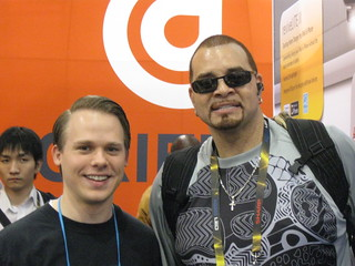 the JoshMeister and Sinbad at CES 2010