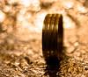 Es ist nicht alles Gold was glänzt (die Folie ist nur angemalt) by Paul aus München