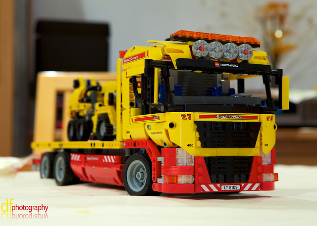 Lego Flatbed Truck.
