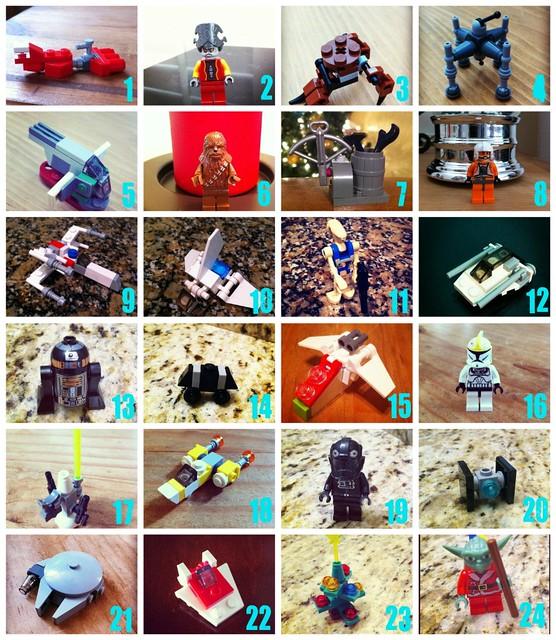 Lego Star Wars Advent Calendar 2011