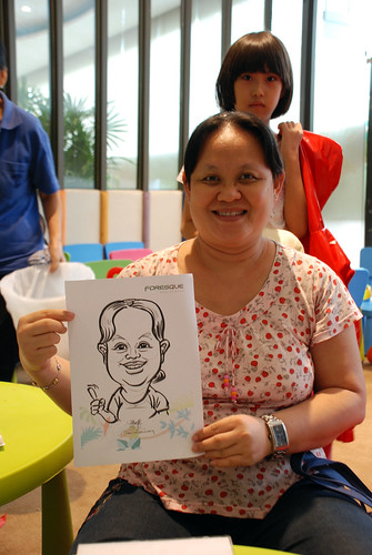caricature live sketching for Foresque Residences Roadshow - Day 2 - 20