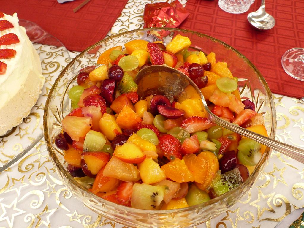 Christmas Fruit Salad.Christmas Fruit Salad By Dorothy Figgles1 Flickr
