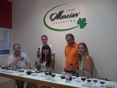 Vivero Mercier reeditó su original degustación al pie de los viñedos