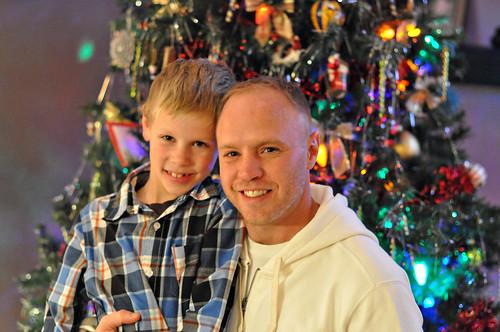 Jere and Mason Christmas 2011