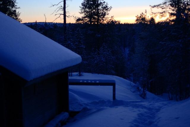 Kaamos en Finlandia