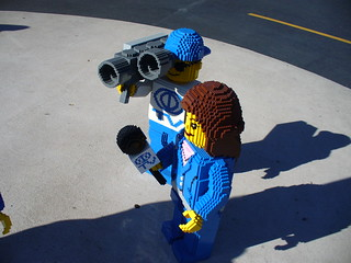 Reporting live from Legoland Florida!