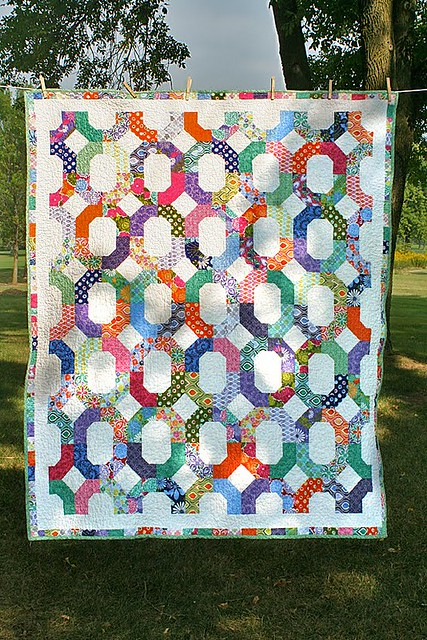 Cross-Terrain quilt