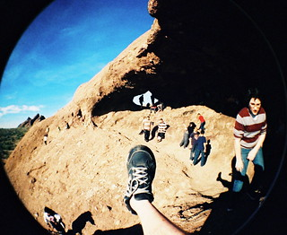 Foot shot 2011 - Papago Park