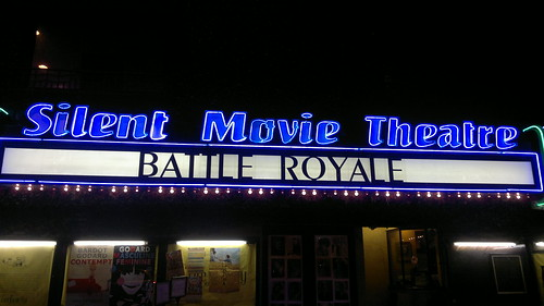 #battleroyale at the Silent Movie Theater
