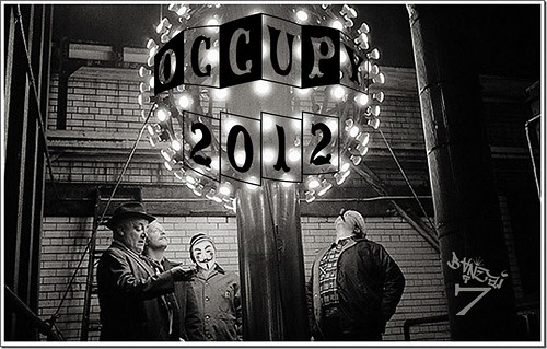 OCCUPY 2012 by Colonel Flick