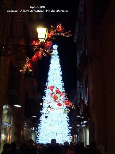 Salerno - Albero di Natale - Via dei Mercanti