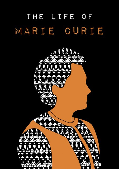 Marie Curie omslag