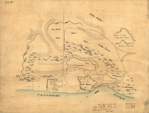 Map of Fort Henry