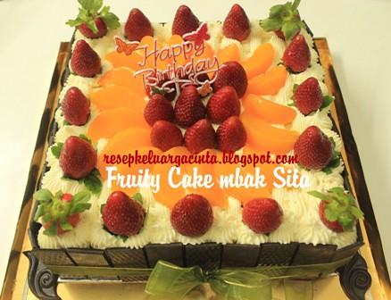 Fruity Cake mbak Sita