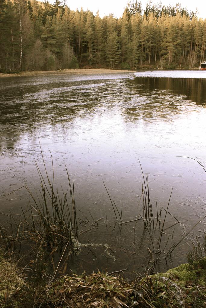 Frozen Lochan, Glen Tanar Estate