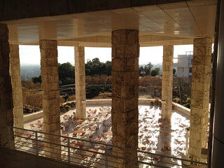 Cafe Terrace at the Getty