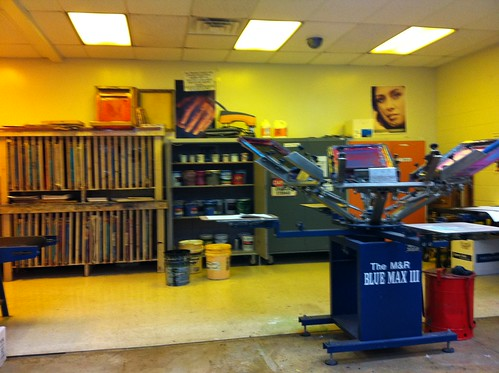 Jackson Area Career Center - Screen Printing