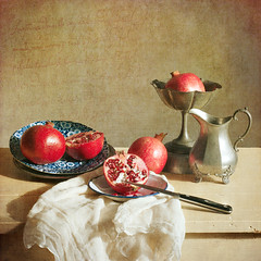Pomegranate Still Life #2