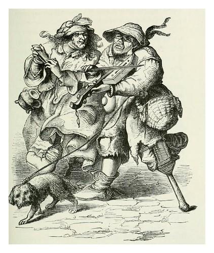 016-mendigos ambulantes siglo XVII-Les harmonies du son et l'histoire des instruments de musique -1878