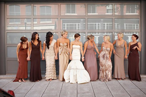 WEDDING BELLS Get My Perfectly Mismatched Bridesmaids Dresses Molly Sims