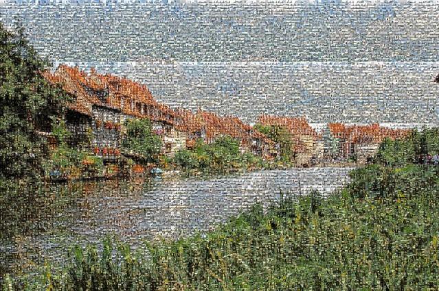 Mosaikbild: Klein Venedig