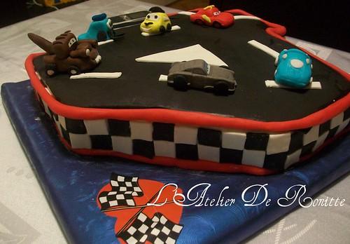 Şimşek Mc Queen 4 yaş doğumgünü pastası by l'atelier de ronitte