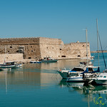 Heraklion Harbor, Sailboats - Crete, Greece