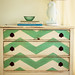 Chevron Painted Dresser by ampirlot