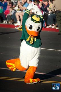 University of Oregon Mascot Duck
